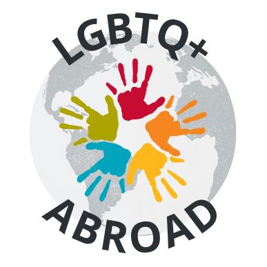 LGBTQ+ Abroad Logo