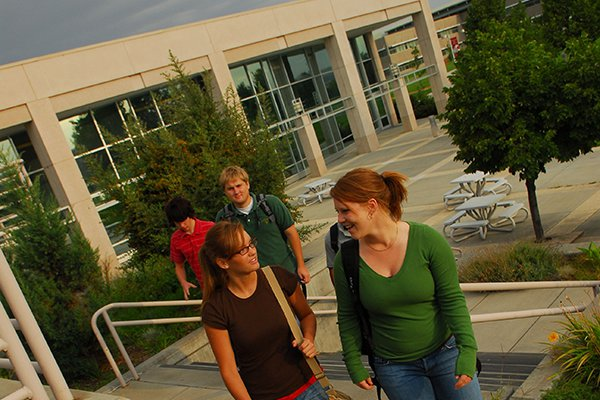A photo of WSUTC students on campus
