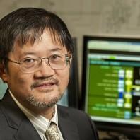 A closeup of Chen Ching Liu