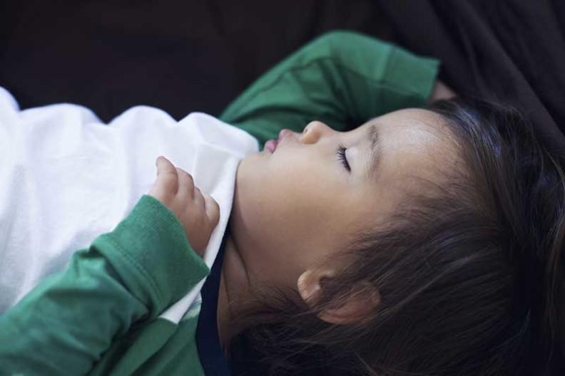 child in rem sleep