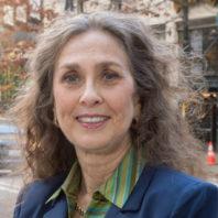 A closeup of Dr. Dedra Buchwald