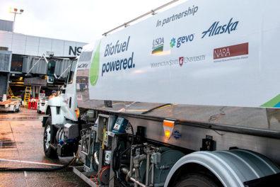 Biofuel truck