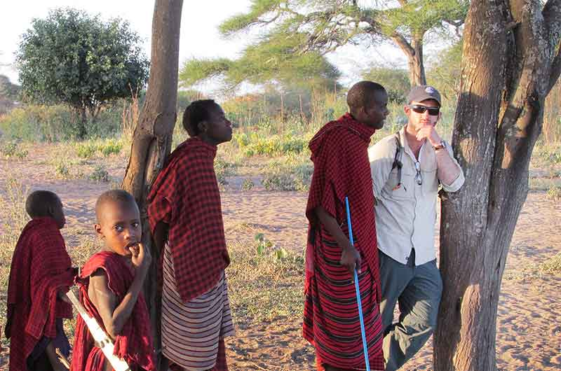 WSU researcher in Africa