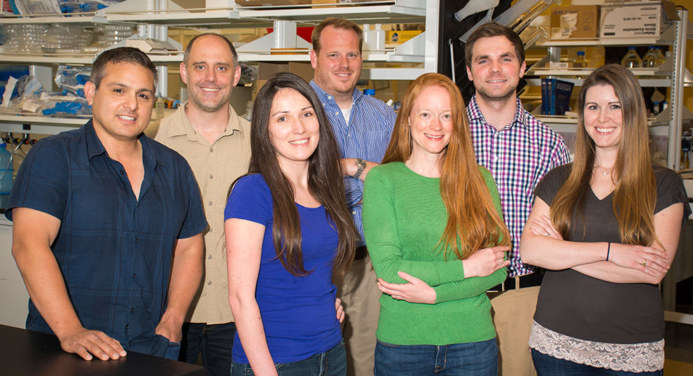 Faculty and staff from the Frank Lab