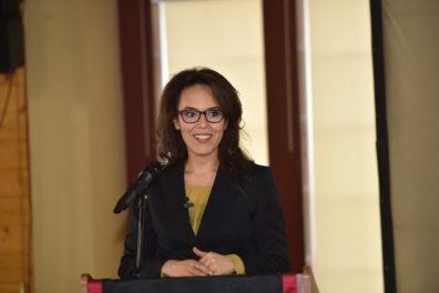 Keynote speaker Dr. Leen Kawas