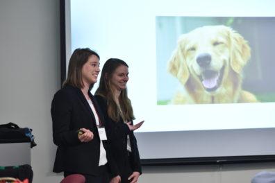 Maggie Cares team presenting.