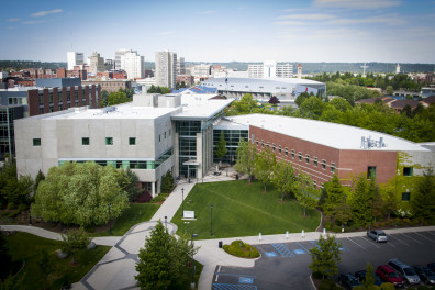 WSU Spokane Health Sciences Building