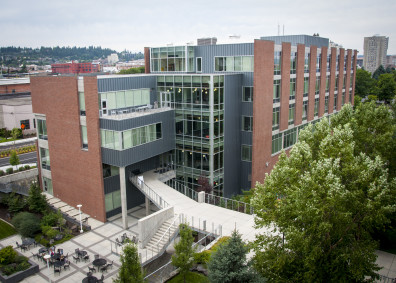 WSU Spokane College of Nursing Building