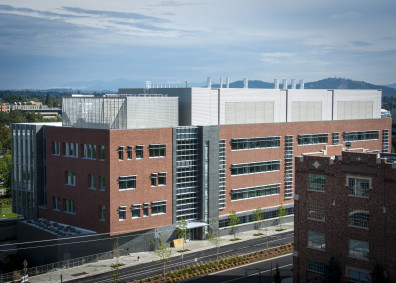 WSU Spokane Pharmaceutical and Biomedical Sciences Building