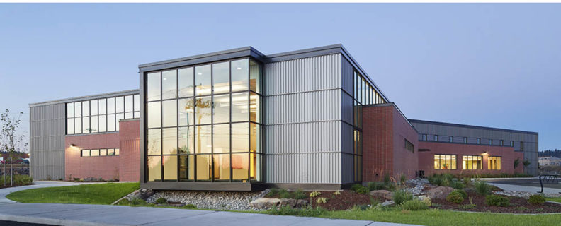 Picture of the exterior of the Spokane Teaching Health Clinic