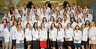 the 60 students in the first cohort of medical students at WSU