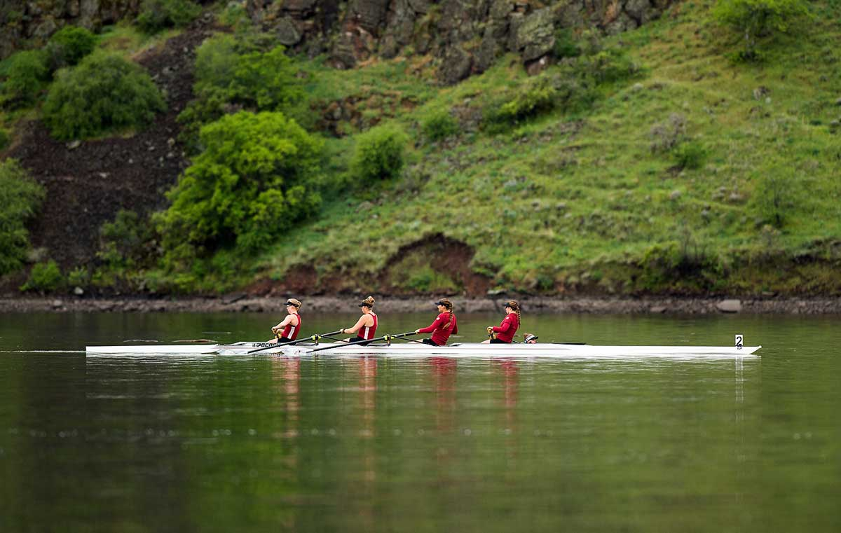 Women's Crew on the Snake river