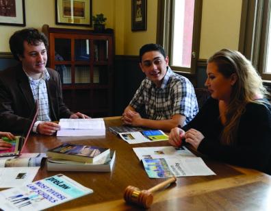 Dr. Salamone mentors students