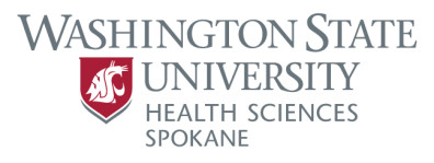 Primary logo for WSU Health Sciences Spokane