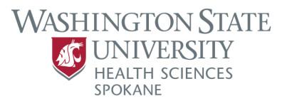 Primary logo for WSU Health Sciences Spokane