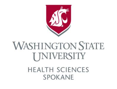 Vertical logo for WSU Health Sciences Spokane