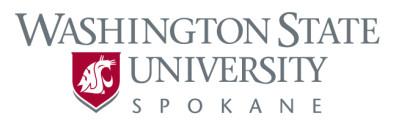 Primary logo for WSU Spokane