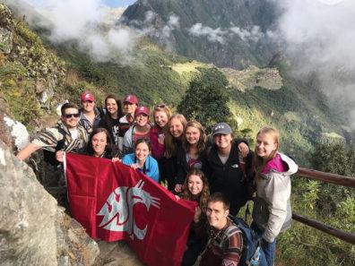 Students in Peru