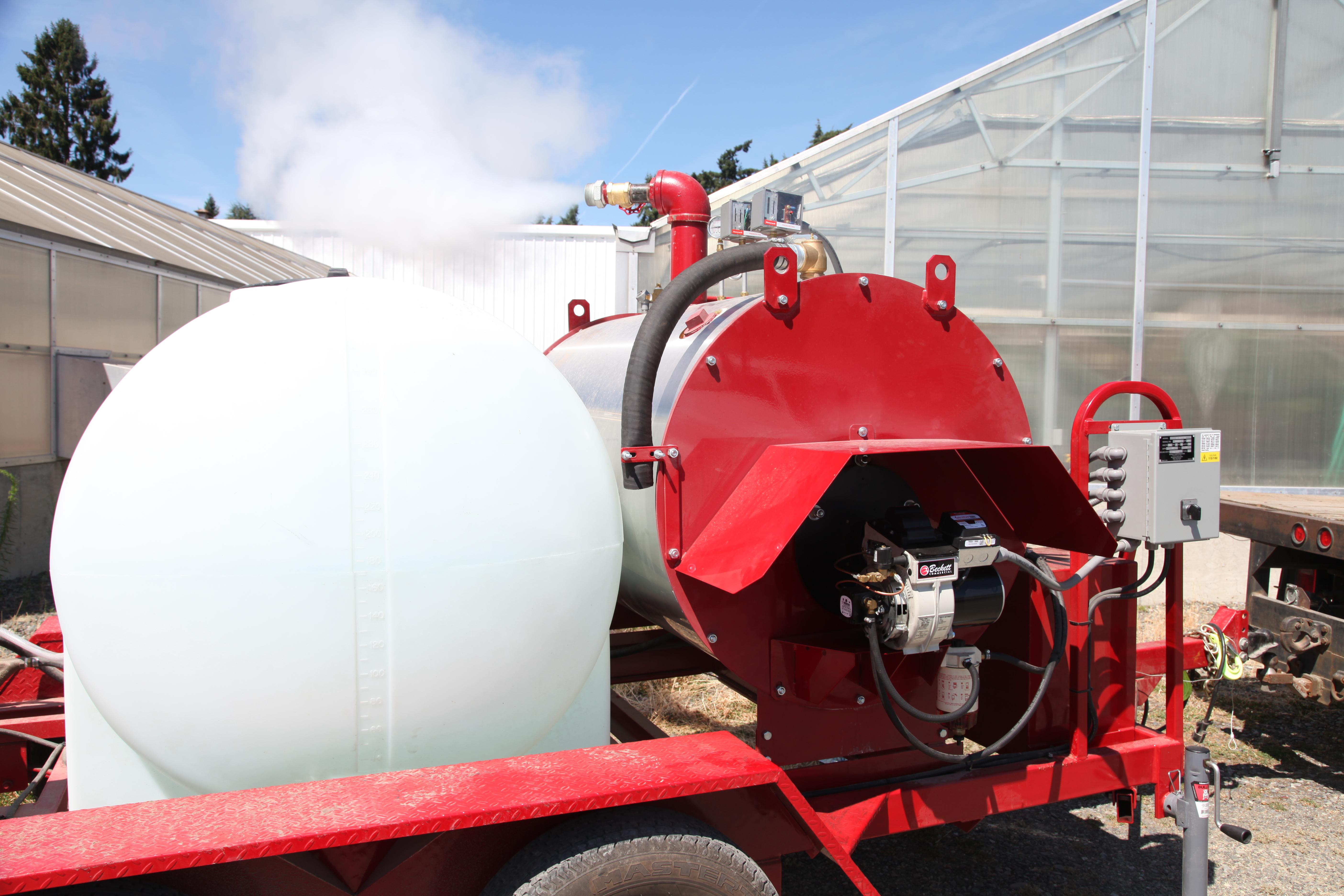 Steam generators | Sudden Oak Death | Washington State University