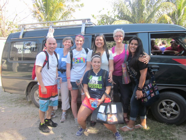 SHS students in Guatemala, April 2015
