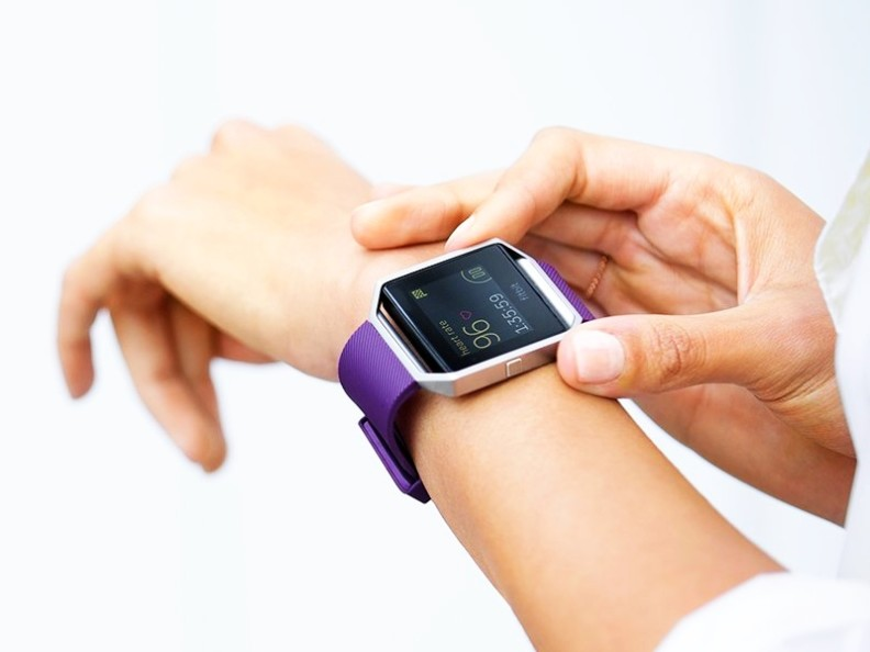 "This is a photo of one of the examples of the ""smart watches"" used by people around the world to monitor their health and fitness."
