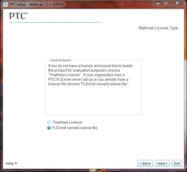 Mathcad15-Step09-LicenseTypeSelect
