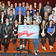 Group photo SURCA 2017 award winners