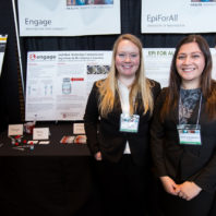 Emily Willard and Katherine Brandenstein of Engage
