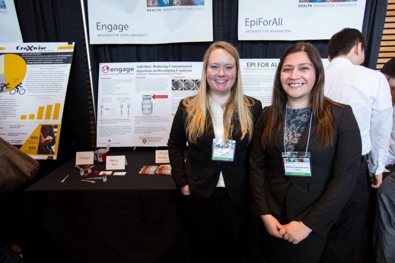 Emily Willard and Katherine Brandenstein of Engage