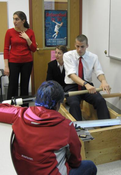 Senior design presentation: Rowing sensor project