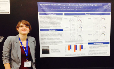 """Megan Caruso, winner of a Novice Award in """"Molecular, Cellular and Chemical Biology"""""""