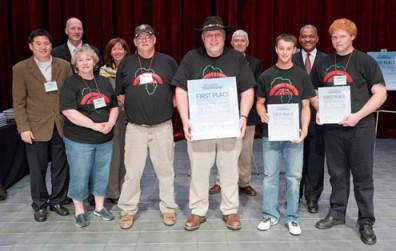 Student team from Lake Roosevelt High School (Mr. Rise, advisor)