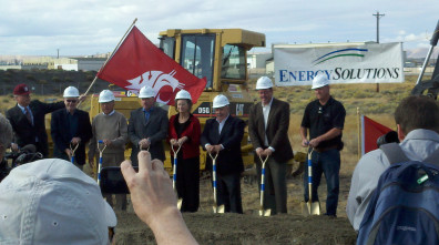 Ground-breaking at WSU Tri-Cities