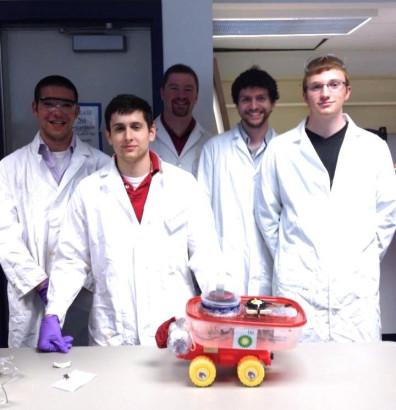 Chemically Powered Car Team