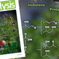 ACS Catalysis magazine with figure