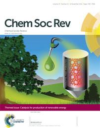 Chem Soc Rev Cover (Royal Society of Chemistry; www.rsc.org/chemcomm)