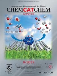 ChemCatChem Magazine Cover, June 2015, Wiley-VCH, Catalysis