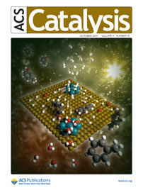 ACS Catalysis Cover, October 2014, ACS Publications