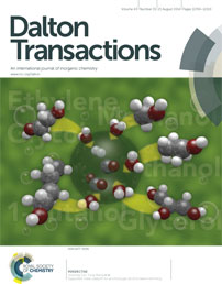 Dalton Transactions Cover, August 2014  (Royal Society of Chemistry)