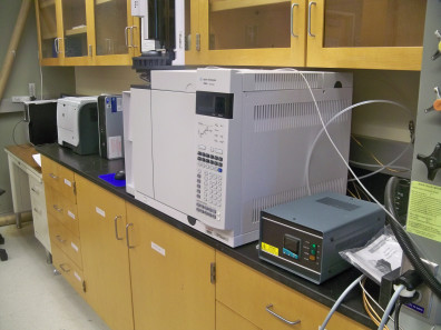 Agilent 7890 A Gas Chromatography