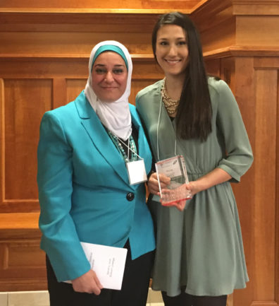Chrystal Quisenberry and Dr. Nehal Abu-Lail