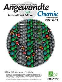 Angewande Chemie cover, 2017-56/13