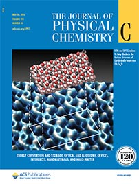 Cover: The Journal of Physical Chemistry