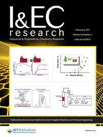 Industrial and Engineering Chemistry Research journal cover, February 8, 2017 - 56/5