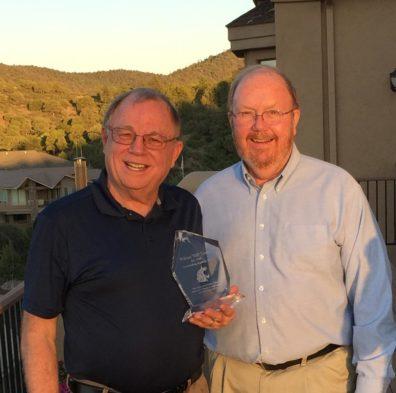 William (Bill) Towne and Jim Petersen