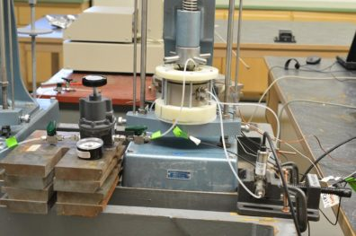 Lab equipment used