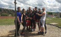 Chemical engineering students participating in WSU REU Rec challenge