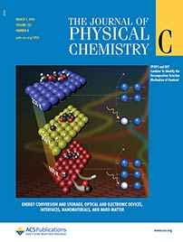 The Journal of Physical Chemistry cover, March 2018