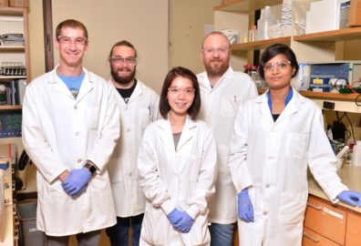 Alla Kostyukova's team: Kyle Swain, Garry Smith, Thu Ly, Dr. Dmitri Tolkatchev, and Tanzila Islam