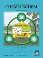 Cover of ChemSusChem Magazine, July 2018 with graphic of synergistic catalysis